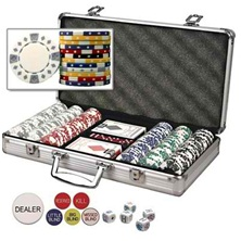 Diamond-Suited Poker Chip Sets