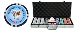 Tournament Pro Series Poker Chip Set